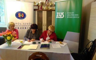 Porozumienie o współpracy pomiędzy ZUS a ZSECH