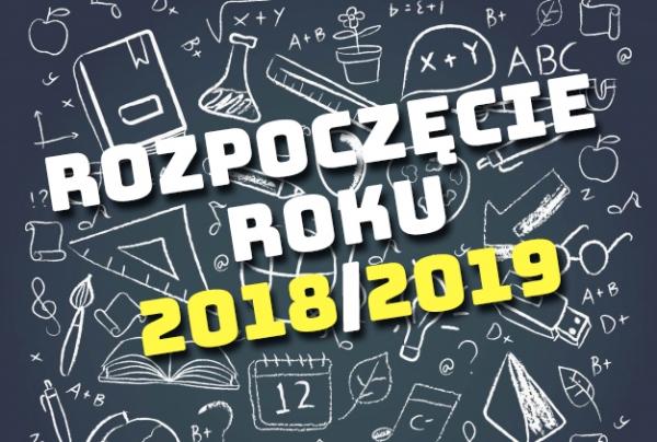 Rozpoczęcie nowego roku szkolnego