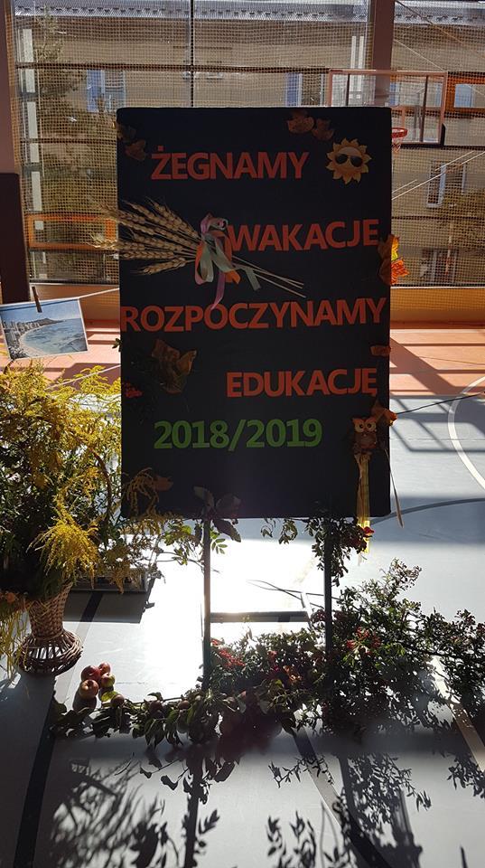 Żegnamy wakacje, rozpoczynamy edukację