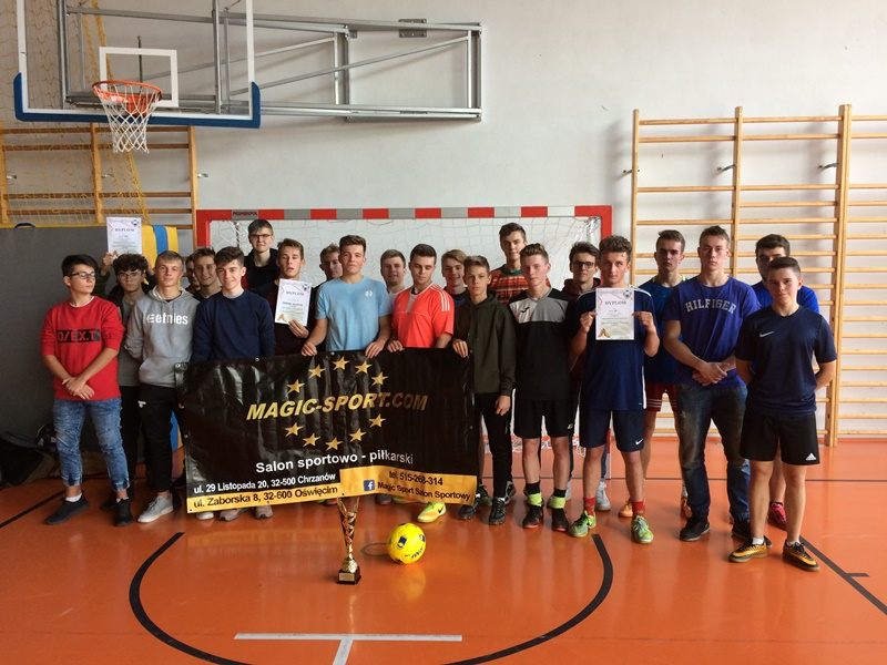 Mistrzostwa w piłce nożnej halowej chłopców