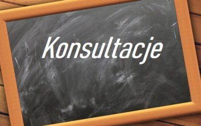 Konsultacje dla maturzystów i uczniów pozostałych klas