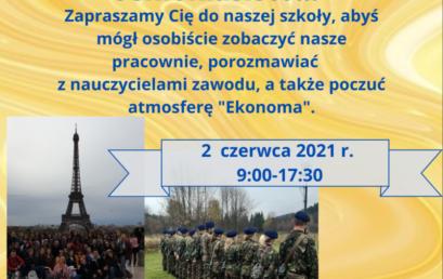 Dzień otwarty w naszej szkole – 2 czerwca 2021 (9:00-17:30)