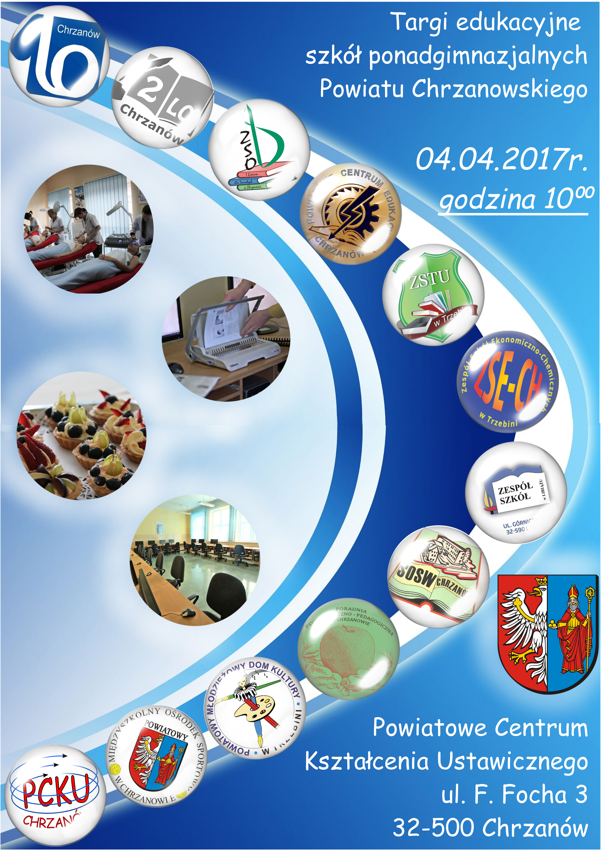 Targi edukacyjne szkół ponadgimnazjalnych Powiatu Chrzanowskiego.