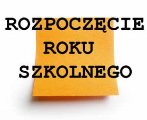 Rok szkolny 2017/2018