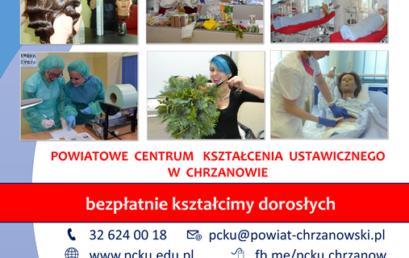 Bezpłatne kształcenie zawodowe dorosłych w PCKU